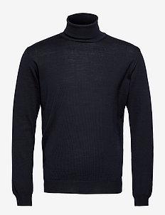 Merino Embroidery - Id - podstawowa odzież z dzianiny - dark blue/navy