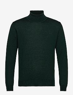 Merino Embroidery - Id - podstawowa odzież z dzianiny - dark green
