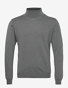 Merino Embroidery - Id - podstawowa odzież z dzianiny - grey