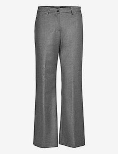 1698 - Sasha Tailored - uitlopende broeken - grey