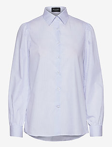8754 - Loreto - långärmade skjortor - ecru/light sand
