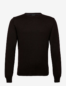 Merino JC Two Tone - Iq - basisstrikkeplagg - dark brown
