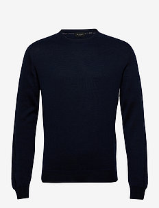 Merino JC Two Tone - Iq - basisstrikkeplagg - medium blue