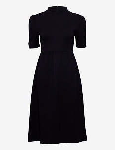 3416 - Ines - midi dresses - dark blue/navy