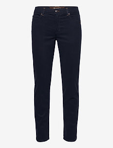 "Suede Touch - Burton N 30"" - regular jeans - dark blue/navy"