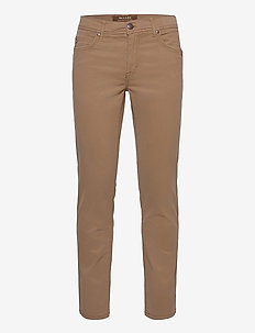 "Suede Touch - Burton N 30"" - regular jeans - light camel"