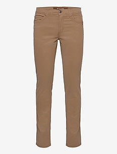 "Suede Touch - Burton N 32"" - regular jeans - light camel"