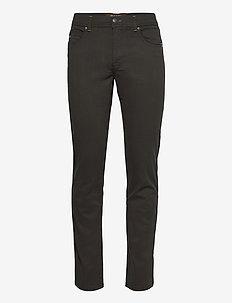 "Suede Touch - Burton N 32"" - regular jeans - olive/khaki"