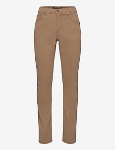 "Suede Touch - Burton N 34"" - regular jeans - light camel"