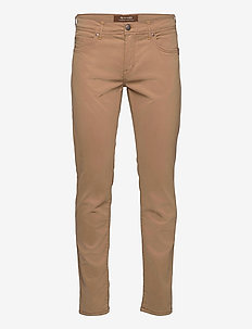 "Suede Touch - Burton NS 34"" - regular jeans - light camel"