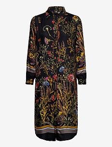 3417 - Asia Dress - skjortekjoler - black