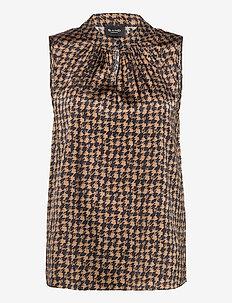 3174 Satin - Prosi Top - sleeveless blouses - pattern
