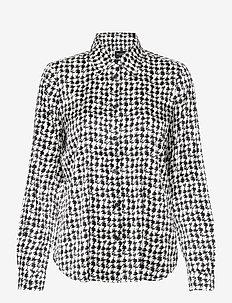 3174 Satin - Latia - blouses med lange mouwen - pattern