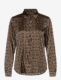 3174 Satin - Latia - long sleeved blouses - pattern