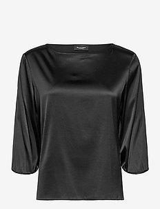3176 - Nova - langærmede bluser - black