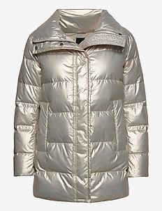 7543 - Darien Short - fôrede jakker - silver