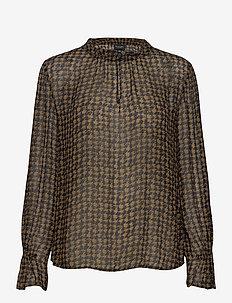 3174 Georgette - Raya F Sleeve - long sleeved blouses - pattern