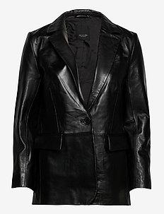 7544 - Ginetta - læderjakker - black