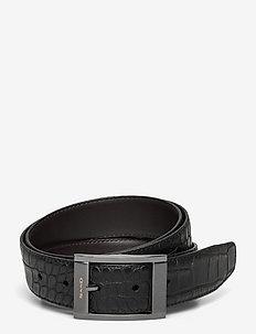 Belt MW Reversible - B104 - 35 mm - paski klasyczne - black/brown