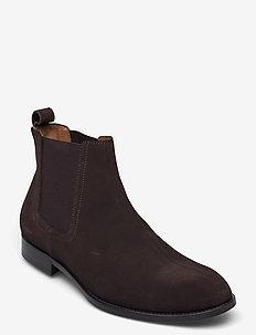 Footwear MW - F236 - chelsea boots - dark brown