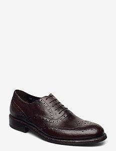 Footwear MW - F316 - snøresko - dark brown