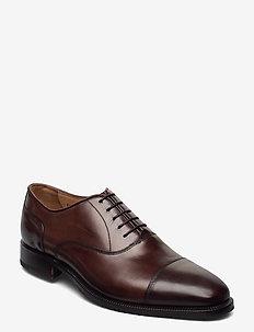 Footwear MW - F726 - snøresko - dark brown