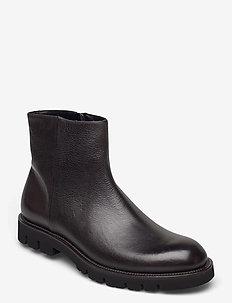 Footwear MW - F884 - chelsea boots - dark brown