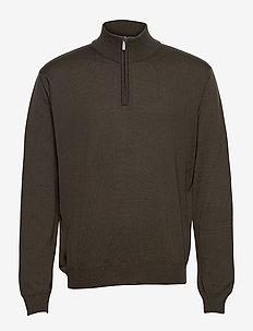 Merino - Ibro - cardigans - olive/khaki