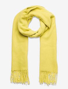 Scarf - halstørklæder - pale yellow