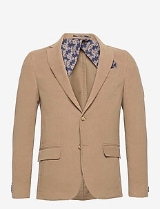 Molskin - Star Easy EP Normal - blazers met enkele rij knopen - light camel