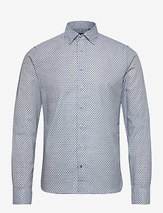 8758 - Iver C 2 - oxford-skjortor - blue