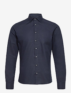 8759 - Iver C 2 - oxford-skjortor - dark blue/navy