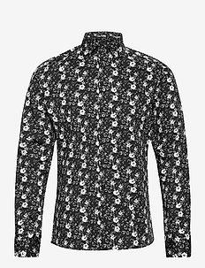 8755 - Iver 2 - casual skjortor - black