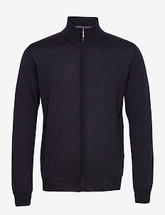 Merino Embr. - Ingram - perusneuleet - dark blue/navy