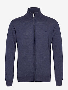 Merino Embr. - Ingram - perusneuleet - medium blue