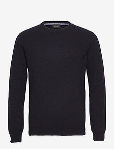 Cashmere - Iq - stickade basplagg - dark blue/navy