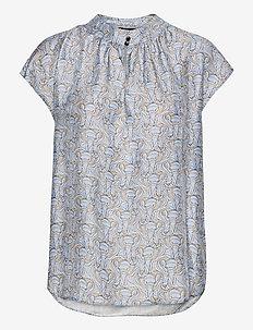 3418 - Prosi Top S - blouses med korte mouwen - pattern
