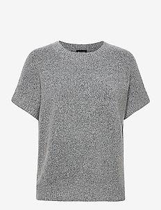 5210 - Izadi - strikkede topper - grey