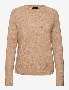 5210 - Marta Round Neck - jumpers - camel