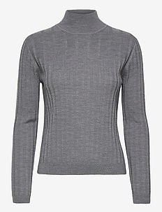 Fellini F - Kilani - turtlenecks - grey