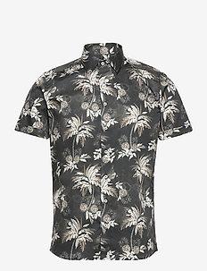 8832 - Iver 2 Soft ST - short-sleeved shirts - black