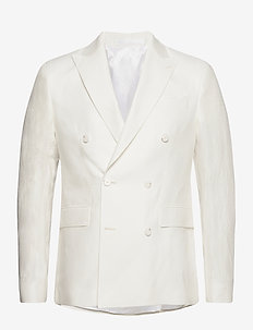 6809 Herringbone - Star DB Normal - blazers met dubbele knopen - optical white