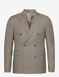 1835 - Star DB Normal - blazers met enkele rij knopen - light camel