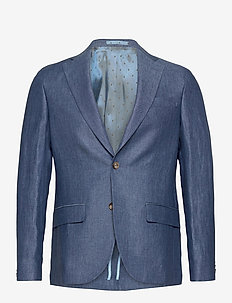 6809 - Star Napoli 1/2 Normal - blazers met enkele rij knopen - medium blue