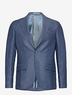 6809 - Star Napoli 1/2 Normal - enkeltradede blazere - medium blue