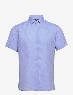 8823 - Iver C ST Trim - basic overhemden - blue