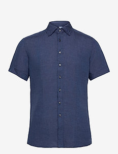 8823 - Iver C ST Trim - basic overhemden - dark blue/navy