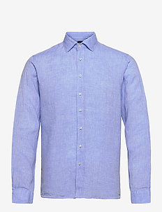 8823 - State NC - basic skjortor - blue