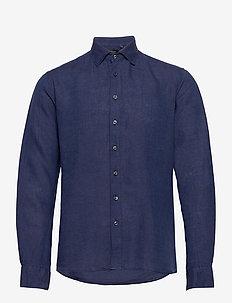 8823 - State NC - basic overhemden - dark blue/navy
