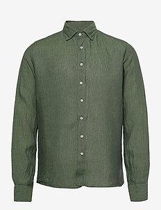 8823 - State NC - basic overhemden - green